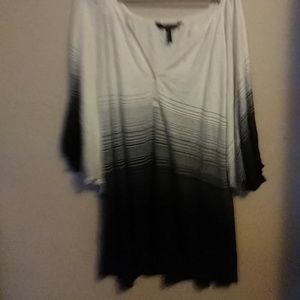 Sweater with Wide Short Sleeves